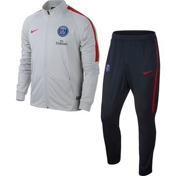 Paris Saint Germain Verryttelyasu Dry Squad Knit Harmaa/Punainen