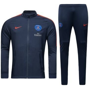 Paris Saint Germain Verryttelyasu Dry Squad Knit Navy/Punainen