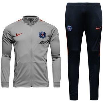 Paris Saint Germain Verryttelyasu Dry Squad Woven Harmaa/Punainen