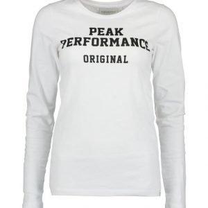 Peak Performance Logo Paita