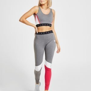 Pink Soda Sport Colour Block Tights Harmaa