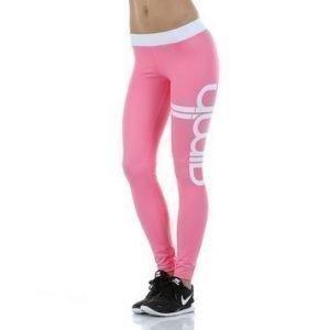 Pink Stripe Tights