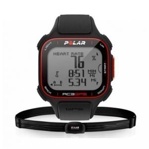 Polar Rc3 Gps Sykemittari Musta