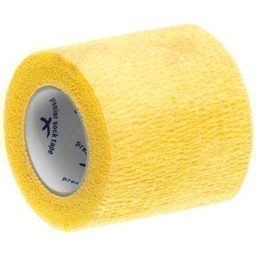 Premier Sock Tape Shin Pad Wrap 5 cm Yellow