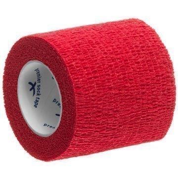 Premier Sock Teippi Shin Pad Wrap 5 cm Punainen