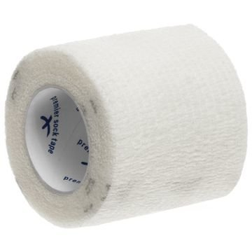 Premier Sock Teippi Shin Pad Wrap 5 cm Valkoinen