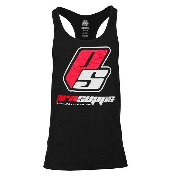 Pro Supps Logo Stringer Black XL