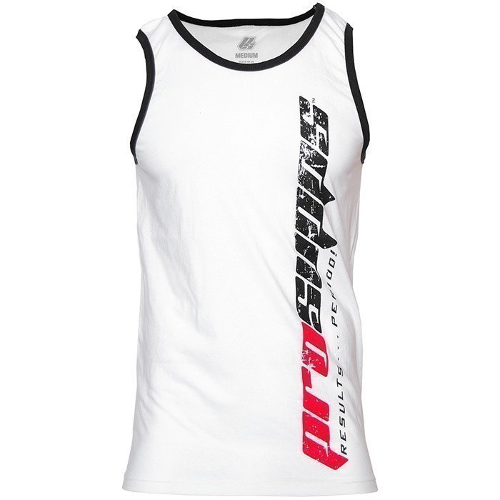 Pro Supps Vertical Tank White/Black XL