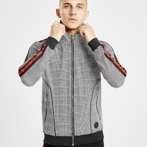 Project X Paris Dogtooth Full Zip Huppari Musta