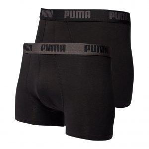 Puma 2 Pack Boxers Musta