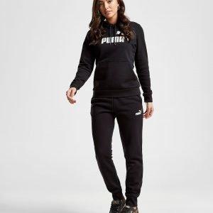 Puma Core Fleece Track Pants Musta
