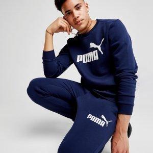 Puma Core Logo Crew Paita Laivastonsininen