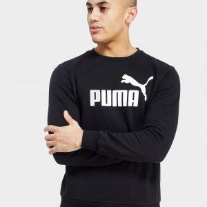 Puma Core Logo Crew Paita Musta
