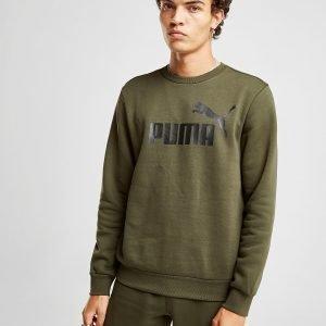 Puma Core Logo Crew Paita Vihreä