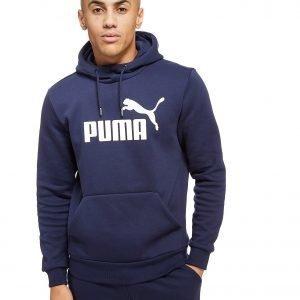 Puma Core Logo Overhead Hoodie Laivastonsininen