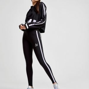 Puma Side Stripe Leggingsit Musta