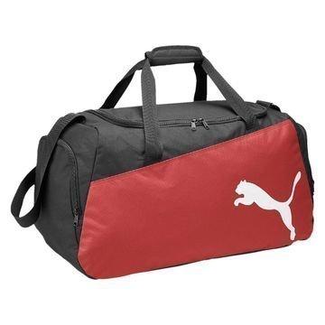 Puma Urheilulaukku Pro Training Medium Musta/Punainen