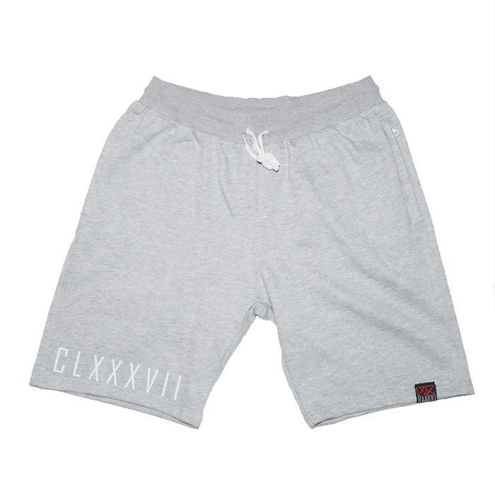 Rääkki Mens Sweatshorts Grey XL