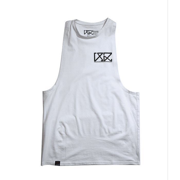 Rääkki Men's Y Tank Top White M