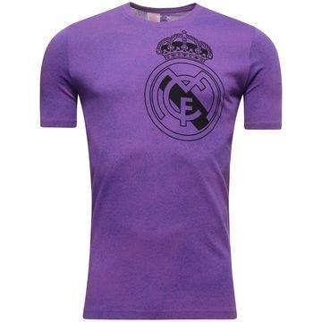 Real Madrid Logo T-paita Violetti/Musta Lapset