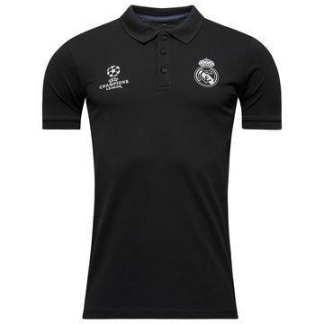 Real Madrid Pikee Champions League Harmaa