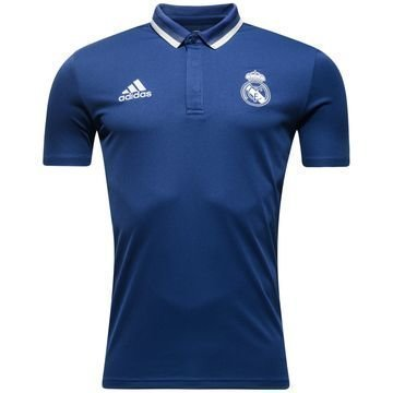Real Madrid Pikee Champions League Violetti/Valkoinen