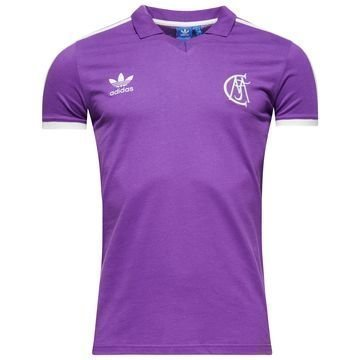 Real Madrid Pikee Originals Violetti/Valkoinen