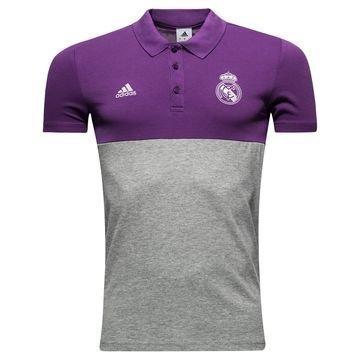 Real Madrid Pikee Violetti/Harmaa