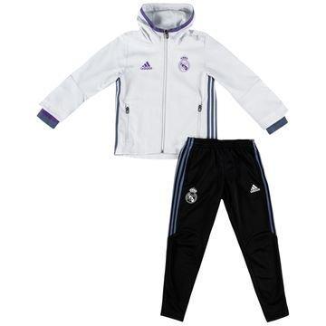 Real Madrid Presentation Verryttelyasu Valkoinen/Violetti/Musta Lapset