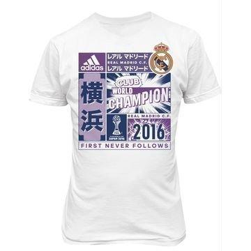 Real Madrid T-paita Club World Cup winner Valkoinen