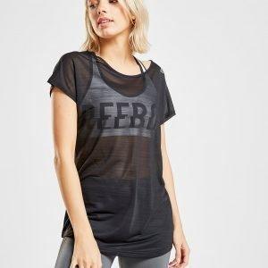 Reebok Active Chill T-Shirt Musta