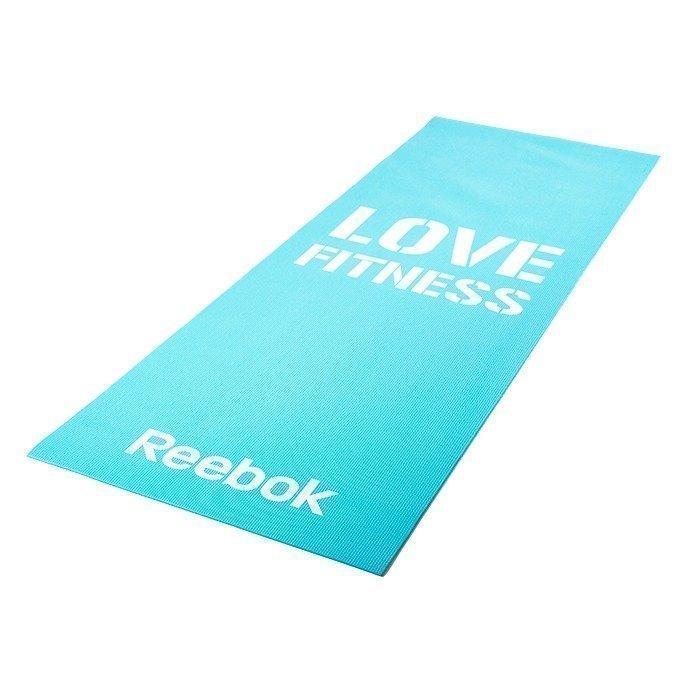 Reebok Fitness Mat Blue Love