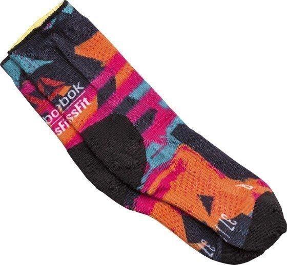 Reebok Print Spray Sock Tekniset Sukat