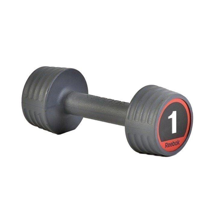 Reebok Studio Rubber Handweight 4 kg Grey