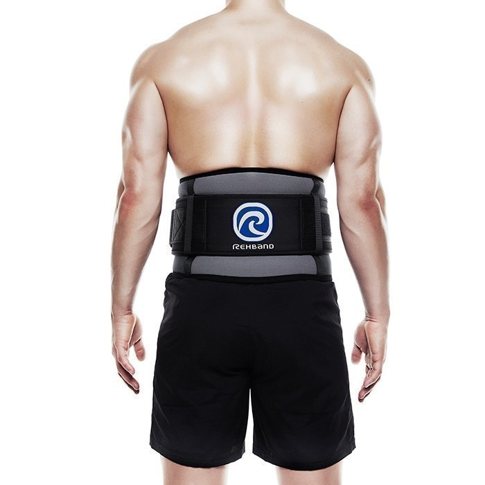 Rehband Power Line Back Support Grey M