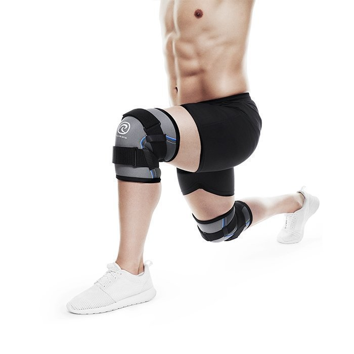 Rehband Power Line Knee Support Grey S