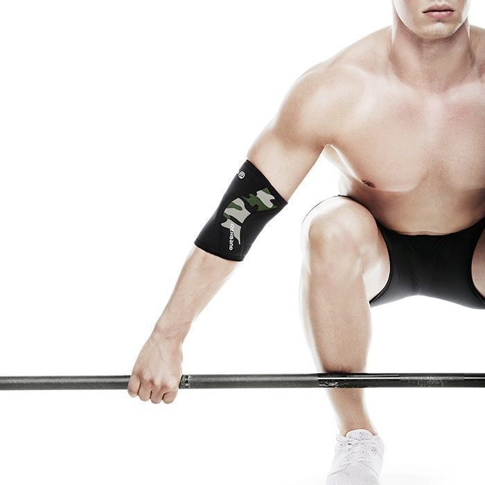 Rehband Rx Elbow Support 5 mm Black/Camo XS