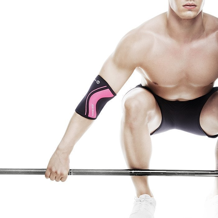 Rehband Rx Elbow Support 5 mm Black/Pink XL