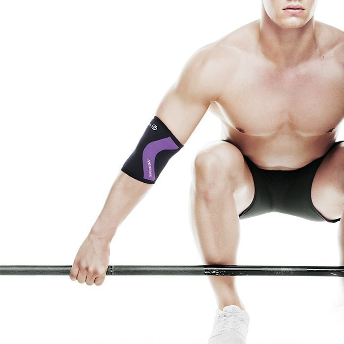 Rehband Rx Elbow Support 5 mm Black/Purple XS