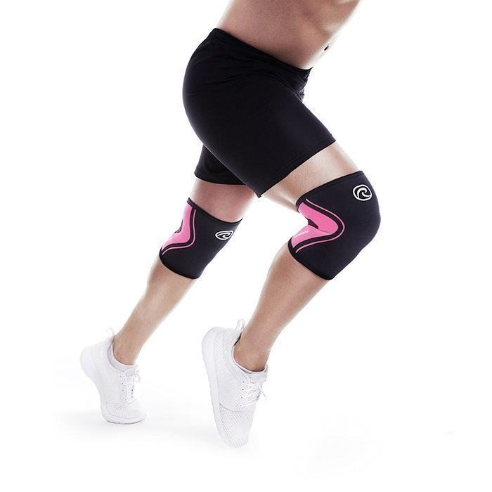 Rehband Rx Knee Support 3 mm Black/Pink XL