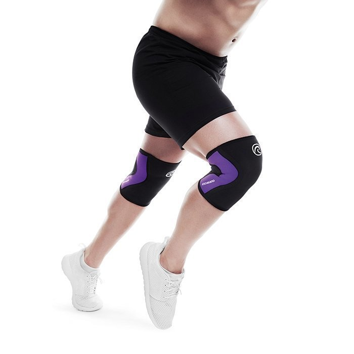 Rehband Rx Knee Support 3 mm Black/Purple L