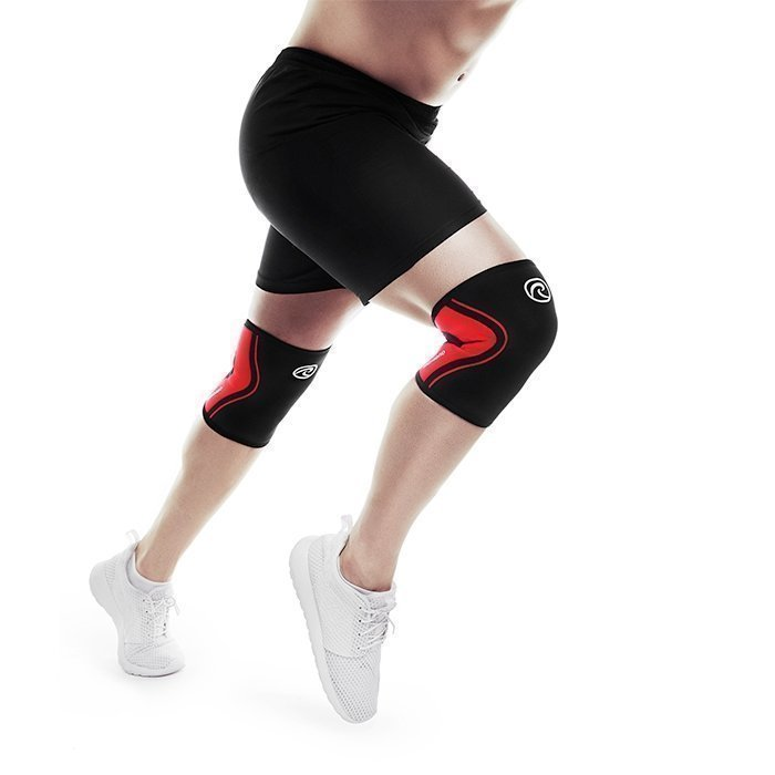 Rehband Rx Knee Support 3 mm Black/Red XXS
