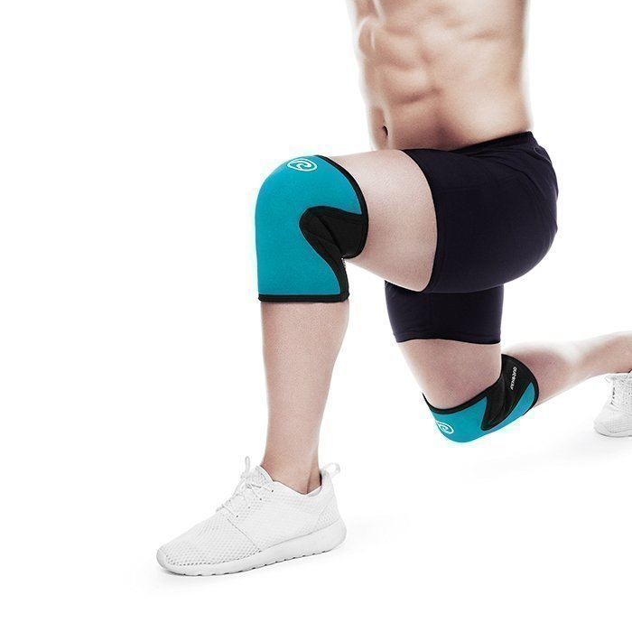 Rehband Rx Knee Support 5 mm Turquoise M