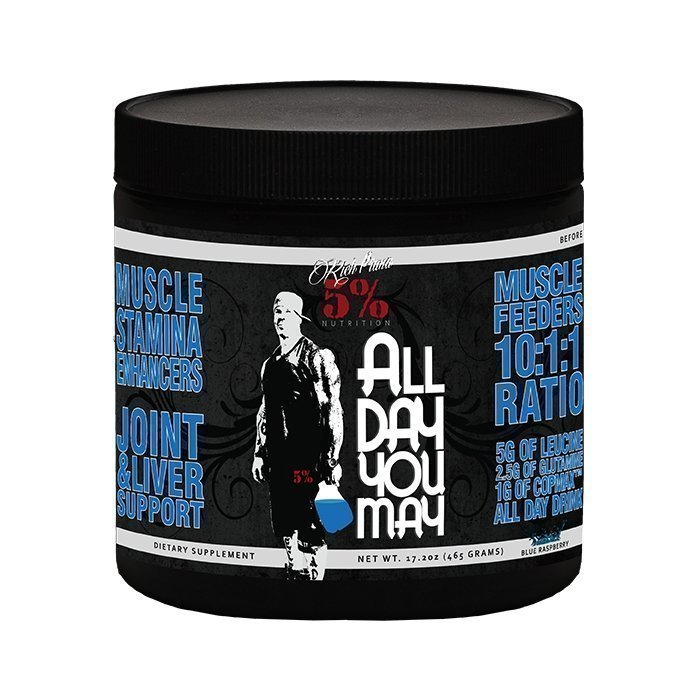 Rich Piana All Day You May 450g Blue Raspberry
