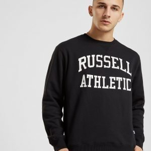 Russell Athletic Arch Logo Crew Verryttelypaita Musta
