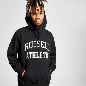 Russell Athletic Arch Logo Overhead Huppari Musta