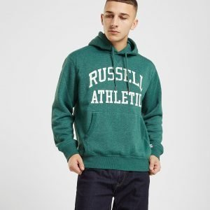 Russell Athletic Arch Logo Overhead Huppari Valkoinen