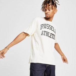 Russell Athletic Arch Logo Short Sleeve T-Paita Valkoinen