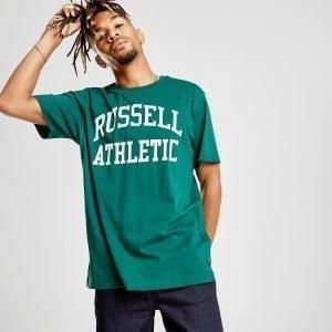 Russell Athletic Arch Logo Short Sleeve T-Paita Vihreä