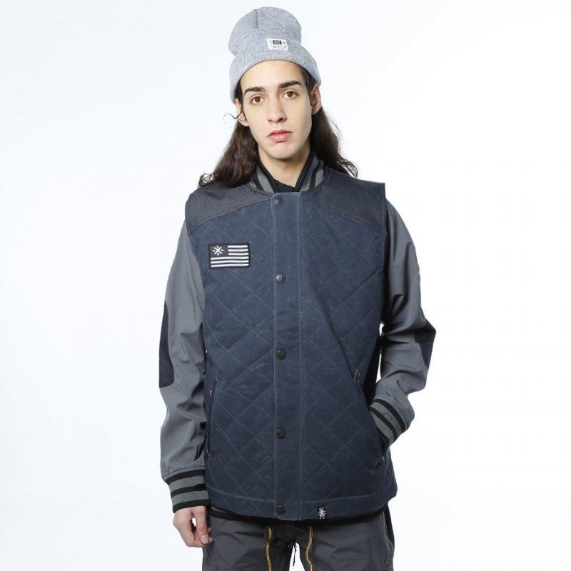 Saga Puffy Vest & Poly Combo